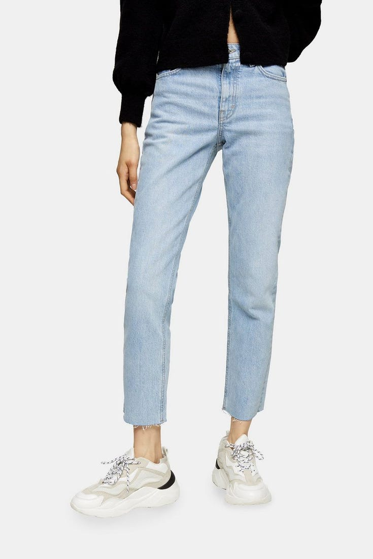 CONSIDERED Bleach Straight Jeans