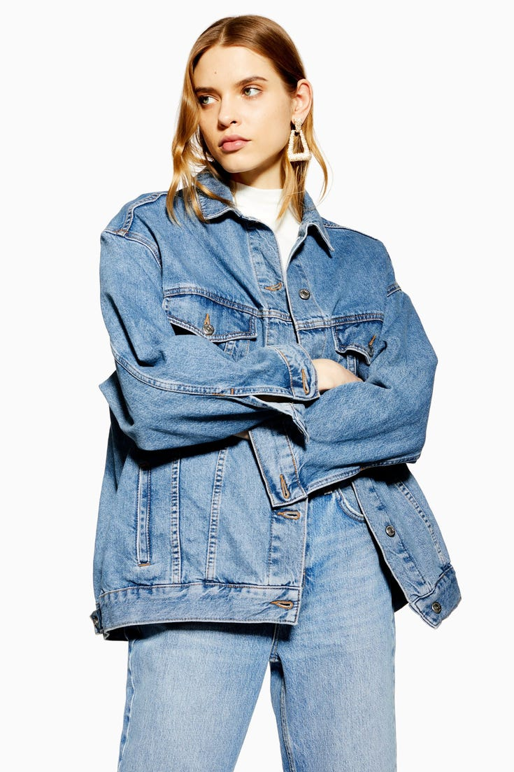 Dad Oversized Denim Jacket