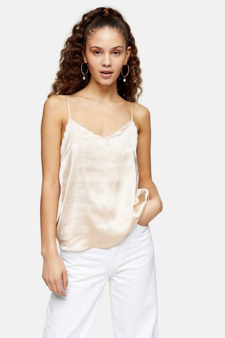 Scallop Cami Top