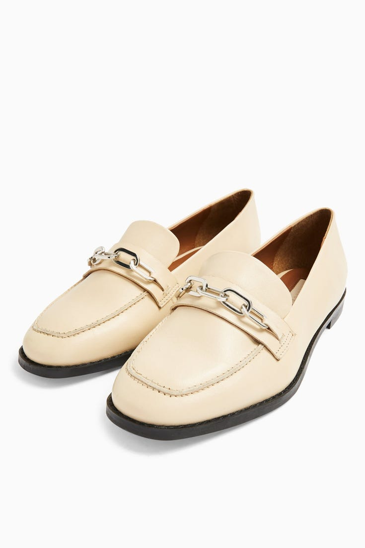 Layla Leather Loafer Shoes