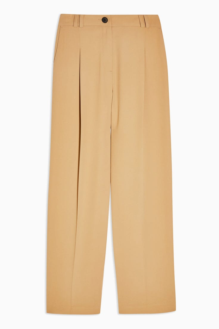 Twill Suit Peg Trousers