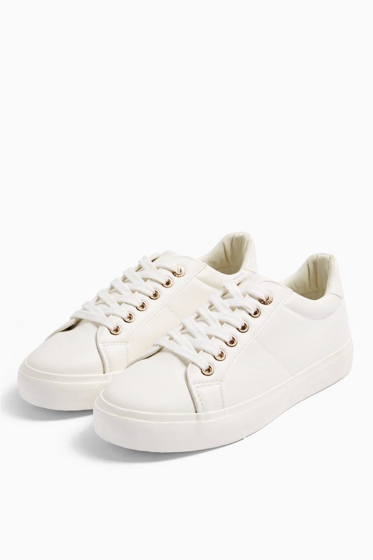 Camden Lace Up Trainers