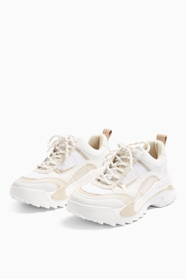 Candid Natural Chunky Trainers