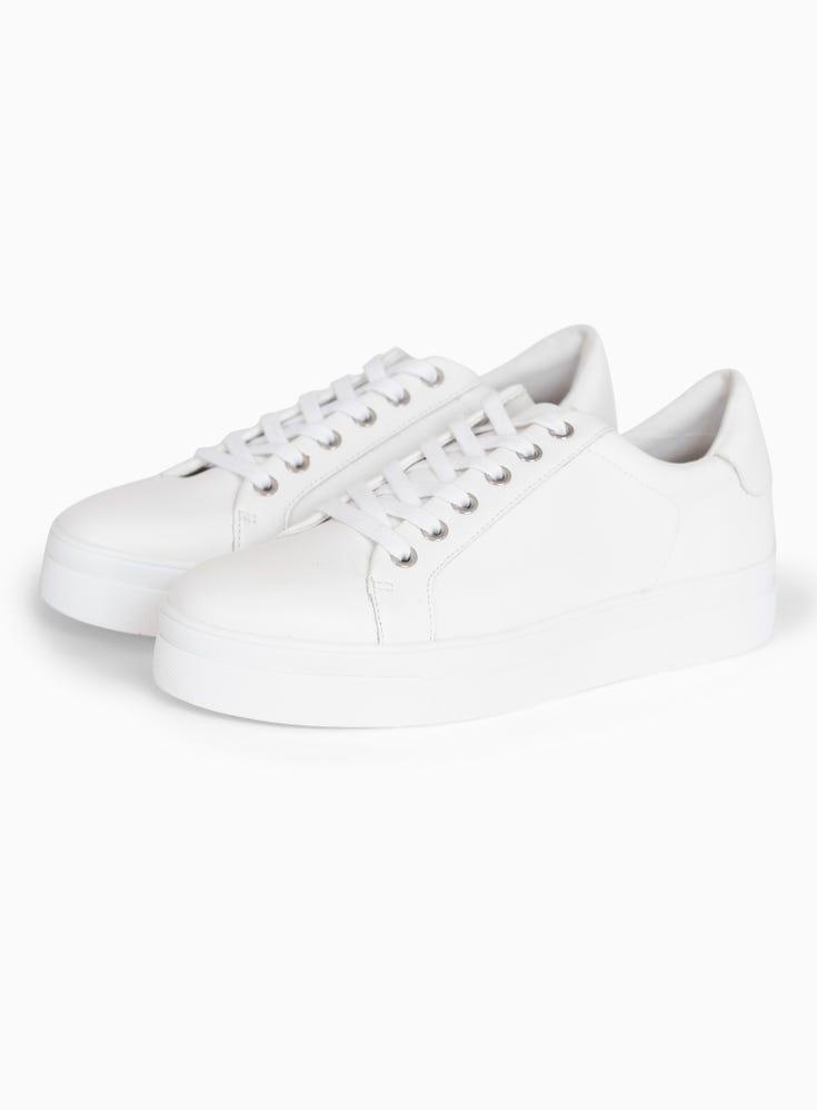 Candy Lace Up Trainers