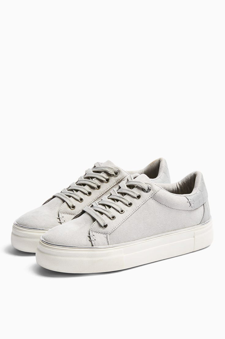 Clover Lace Up Trainers